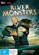 River Monsters : Season 3 (DVD, 2013, 2-Disc Set) New Unsealed (D232)