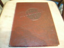 1939 MARION COLLEGE YEARBOOK/ANNUAL/JOURNAL/INDIANA