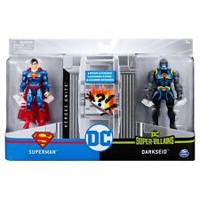 "Spin Master DC Heroes Unite 1st Edition 4"" Action Figures - Superman V Darks Eid"