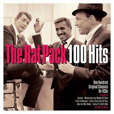 The Rat Pack 100 HITS Best Of Essential Songs SINATRA, MARTIN, DAVIS JR New 4 CD