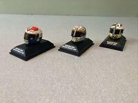 Valentino Rossi Moto GP Minichamps Pauls Model Arts 2005,06,07 Die Cast Helmets