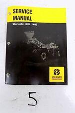 NH New Holland LW170 LW190 Wheel Loader Workshop Shop Service Repair Manual 6/02