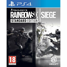 Tom Clancys Rainbow Six Siege 6 PS4 PLAYSTATION New and Sealed