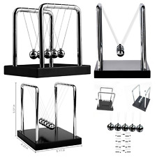 Kids Educational Toy Newtons Cradle Balance Balls Science Motion Art Medium Size