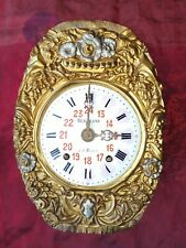 ANCIEN MOUVEMENT PENDUL HORLOGE CARILLON COMTOISE OROLOGIO OLD CLOCK UHR RELOJ D