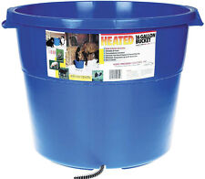 ALLIED HEATED WATER BUCKET Heavy Duty Plastic 6ft Cord Keeps Ice Free 16 Gallon