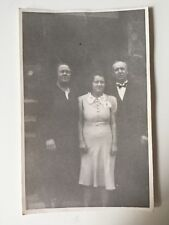 Vintage Postcard Photograph - Real Person - Unknown Group - Bow Tie - Jerome Ltd