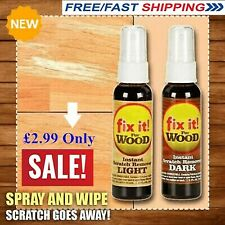 Instant Fix Wood Scratch Remover Set Fix it Wood Scratch Repair - Best price  BG
