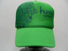 HUMM KOMBUCHA - ONE SIZE TRUCKER STYLE ADJUSTABLE SNAPBACK BALL CAP HAT!