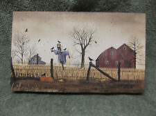 After The Harvest Scarecrow Fall Pumpkins Canvas Billy Jacobs Barn Farm Small