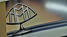 Maybach Pressemappe 2005 englisch Daimler Benz Mercedes Maybach Gold