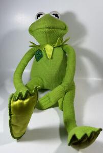 "Magic Talking Kermit 30th Anniversary 18"" Plush Doll The Frog Tyco 1999 Works"