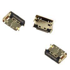 Mini HDMI port smd réparation suite prise tv pièce de rechange NEUF-OR