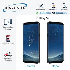 Rigenerazione Sostituzione Riparazione Vetro Rotto Display Samsung S9 G960F
