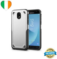 Phone Case For Samsung Galaxy Rugged Armor A8 S7 S8 S9 Plus Cover Silver