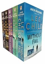 Lee Child Jack Reacher Series 6-10 Collection 5 Books Set - Without Fail Persuad