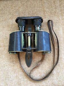 Carl Zeiss Jena Binoculars Jagdglas Vergr- 5 1906. Relisted due to no-pay bidder