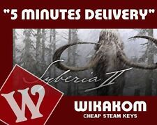 Syberia II (2) Steam Key - for PC Windows Fast Delivery
