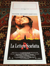 La Lettera Scarlatta locandina poster Demi Moore Gary Oldman Robert Duvall Love