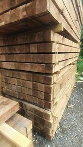 Timber Fence Post 4x4 Treated Fencing 2.4m 8ft 1 pack
