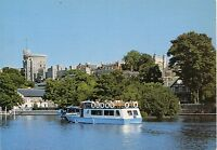 Alte Postkarte - A view of Windsor Castle, Berkshire from the River Thames