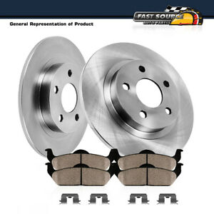 Front Rear Brake Discs Rotors Ceramic Pads For Ford Explorer Sport 2003-2005 4WD
