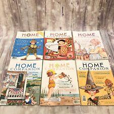 Mary Engelbreit Home Companion Magazine Lot 6 2000 2001 No Paper Dolls