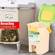 21L Indoor Compost Bin Compost Bucket for Kitchen Bio Recycle Compost Bin USA