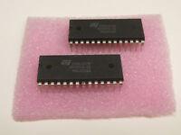 2 Stück 2 pieces Z84C00BC6  Z80B  CPU CMOS  PLCC44  6MHz  Z8400 NEW ~