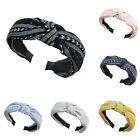 Fashion Women Wide Fabric Hairband Headband Bow Knot Head Wrap Hair Accessories