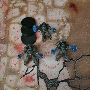 Warhammer 40K Space Marines Primaris Inceptors Painted Lot 1
