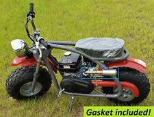 Exhaust With Muffler for: Coleman BT200X Mini Bike.