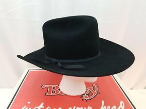 Vintage Bailey Cowboy Hat X Double X Fur Blend Size 6 5/8 Worn Once w Box