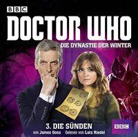 JAMES GOSS - DOCTOR WHO: DIE DYNASTIE DER WINTER TEIL 3-DUE  2 CD NEU