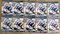 1990 Pro Set #685 - Emmitt Smith Rookie RC - Dallas Cowboys HOF - 10ct Card Lot