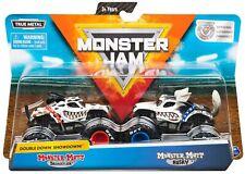 Monster Mutt Dalmation & Monster Mutt Husky Diecast Car 2-Pack