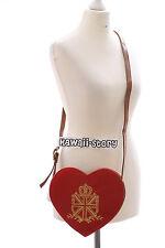 Lb-37 ROSSO RED CUORE HEART Gothic Lolita DOLCE BAG Giappone Harajuku Giacconi-Borsa