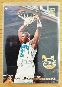 LARRY JOHNSON Frequent Flyers Topps Stadium Club 1993-94 PACK FRESH