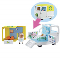 🔥 Peppa Pig Peppa's Mobile Medical Centre Playset with 2 Action Figures Playset