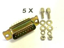 4X IEC C14 Stecker Inline Chassis Buchse Stecker Rewireable ZP