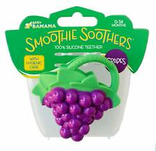 Baby Banana Grape Smoothie Soother, Purple and Green