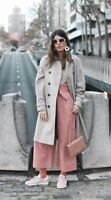 ZARA SS18 PINK TROUSERS WITH BELT Size XS Ref. 4387/030