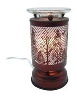 Electric Oil Wax Tart Melt Warmer Deer Trees Design Touch Control