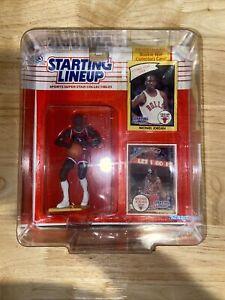 1990 Starting Lineup Michael Jordan Rooke Year Card Sealed PSA Grade Worthy!