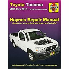 Haynes 92077 Repair Manual - Easy to Install Fits Toyota Tacoma 05 - 09