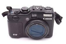 Canon PowerShot G12 10.0 MP Digital Camera - Black