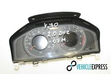 VOLVO V70 2.0 Diesel Speedometer Instrument Cluster 30786629AB