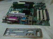 252608-001 HP Compaq Evo d300 d500 Socket 478 carte mère I/O Plate RAM & G Card