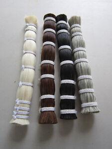 1/8 Pound HORSEHAIR BUNDLE Crafts Pow Wow Regalia choose color