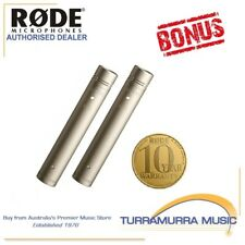 Rode NT5 (Matched Pair) Pencil Condenser Microphones with BONUS FREE RODE GIFT